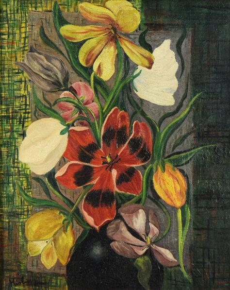 Moise Kisling, 'Fleurs', 1916