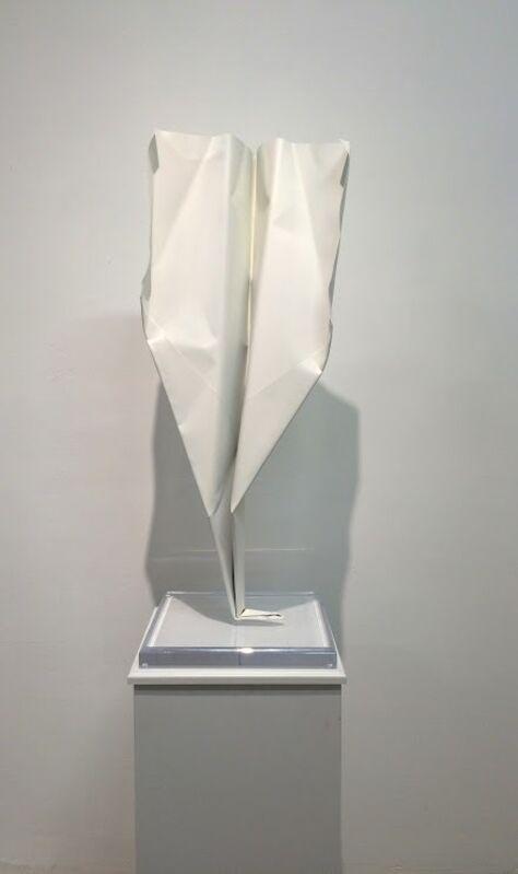 Blue and Joy, 'Paper Plane', 2015, Sculpture, Aluminum, Spray Paint, Galleria Ca' d'Oro