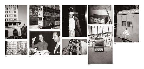 Nine works: (i) Peninsula Hotel; (ii) Hong Kong Construction Site; (iii) Double Decker Bus; (iv) Fred Hughes and Unidentified Woman; (v) Bellhop; (vi) Hong Kong Building; (vii) Ash Can; (viii) Trash Can; (ix) Chinese Truck