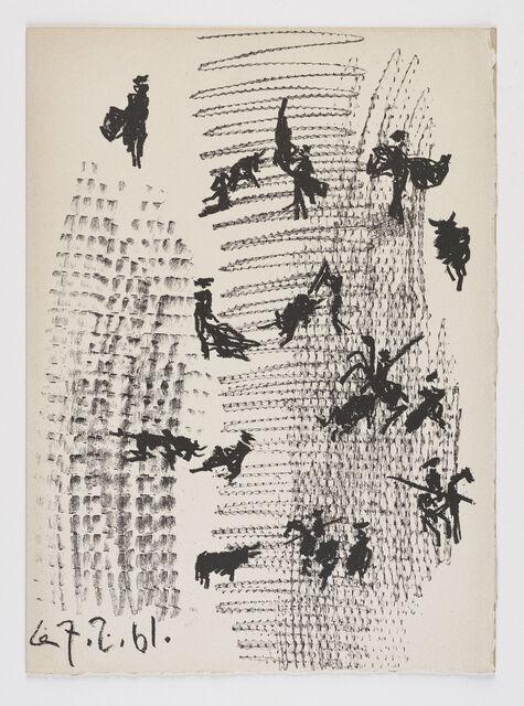 Pablo Picasso | Toros y Toreros (1961) | Artsy