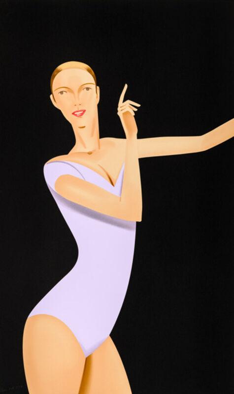 Alex Katz, 'Dance 1', 2019, Print, Silkscreen on paper, Galerie Schimming