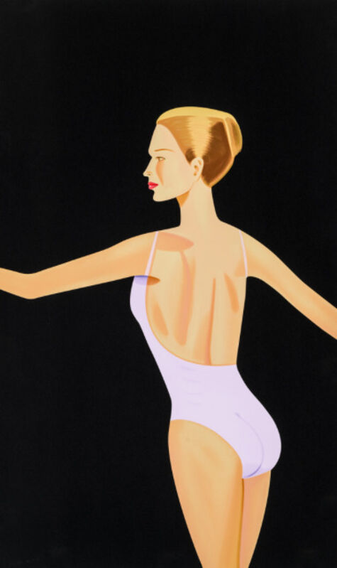 Alex Katz, 'Dancer 3', 2019, Print, Sil, Galerie Schimming
