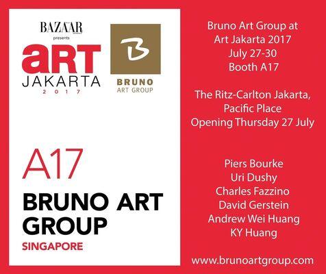Bruno Art Group  at Art Jakarta 2017, installation view