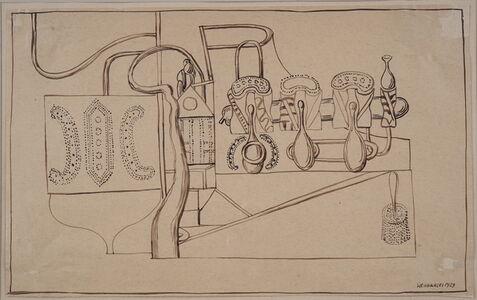 Henryk Streng/ Marek Włodarski, 'Composition with a brush', 1929