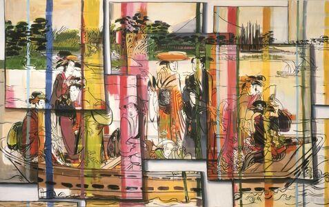 Lisa Milroy, 'Drifting', 2000