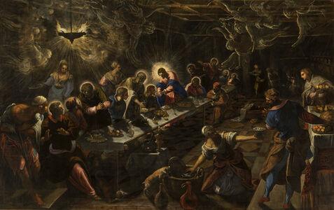Jacopo Tintoretto, 'Last Supper', 1590-1592