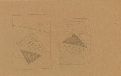 Friedrich Vordemberge-Gildewart, 'Study (D47)', 1938