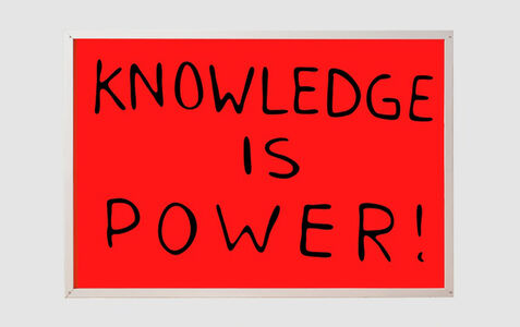 Sam Durant, 'Knowledge is Power!', 2015