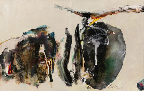 Chuang Che 莊喆, 'Composition (Diptych)', 2008