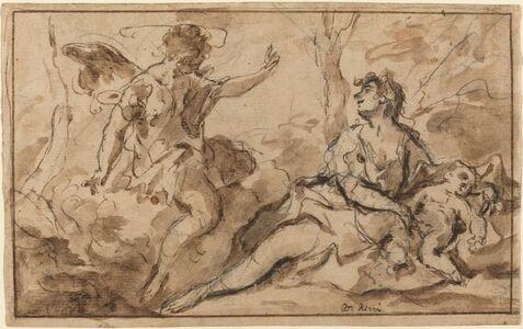 Sebastiano Ricci, 'The Angel Appearing to Hagar and Ishmael', 1726/1727