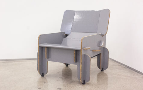 Craig Hodgetts, 'Punch-out, Lounge Chair', 1972