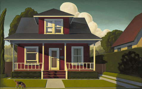 R. Kenton Nelson, 'Painting About a Dog', 2010