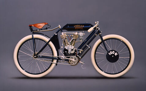 Peter Maier, '1908 Indian Racer', 2005