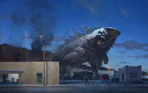 John Brosio, 'The Edge of Town No. 13', 2015