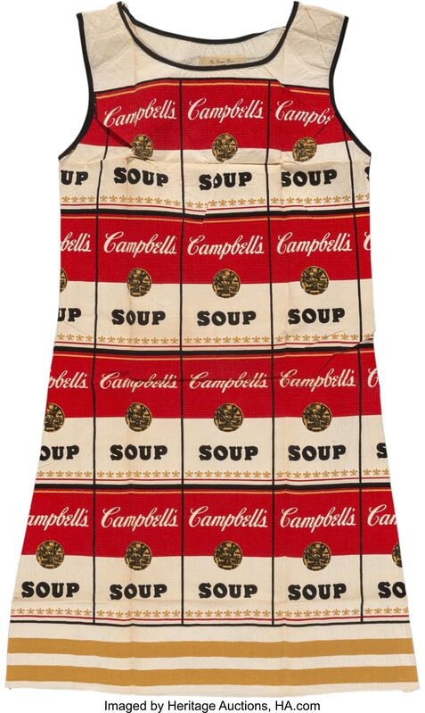 Andy Warhol, 'The Souper Dress, (Limited Edition)', c. 1968, Print, Screenprint in colors on cellulose and cotton, Heritage Auctions