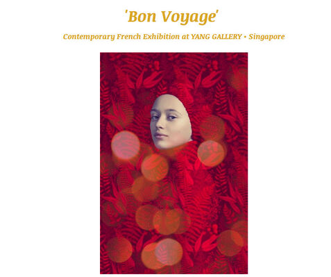 'Bon Voyage' Contemporary French Artists Exhibition, installation view