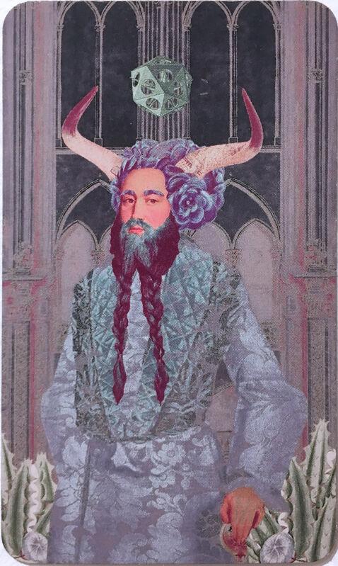 Deming King Harriman, 'Zodiac Deck', 2018, Print, Digital print on glossy card stock, Deep Space Gallery