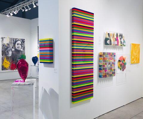 Galerie de Bellefeuille at Art Miami 2019, installation view