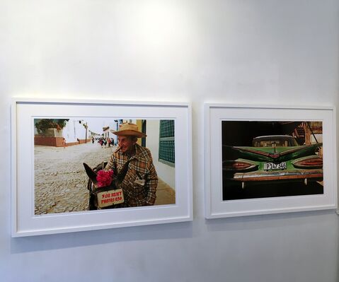 Journey Around the World, installation view