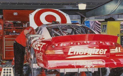 Ron Kleemann, 'Ride on target', 2004