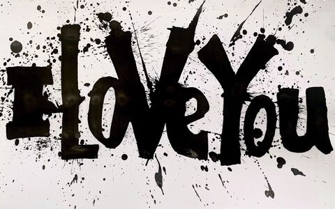 Daniel Diaz-Tai, 'I Love You (Splatter)', 2020