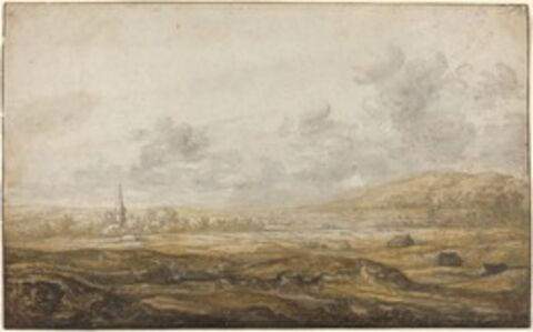 Aelbert Cuyp, 'Panoramic Landscape along the Rhine', 1640s