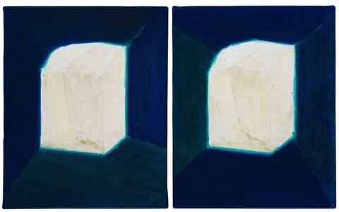 Shi Zhiying 石至瑩, 'White Stone 1-2 白石料 1-2', 2017