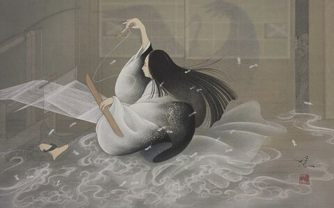 Yoji Kumagai, 'Weaving Crane,', 2019