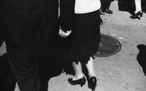 Rudy Burckhardt, 'Sidewalk', 1939