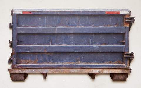Dan Witz, 'Container Blue (East Moline)', 2016