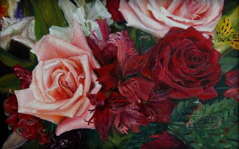 "Debra Keirce, '""Pretty in Pink""', 2019"