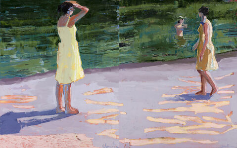 Linda Christensen, 'Lake (Diptych)'