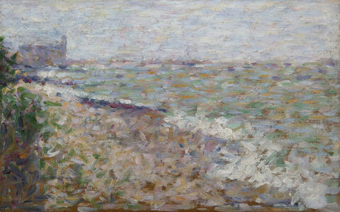 Georges Seurat, 'Le mouillage à Grandcamp', ca. 1885