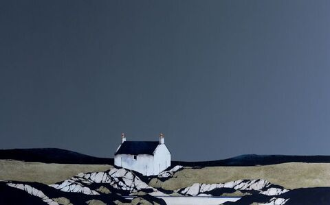 Ron Lawson, 'Rocky Shore, Tiree', 2020
