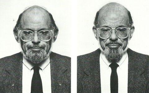 Jiří David, 'Allen Ginsberg, from the series Hidden Image', 1993