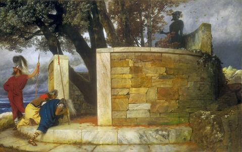 Arnold Böcklin, 'The Sanctuary of Hercules', 1884