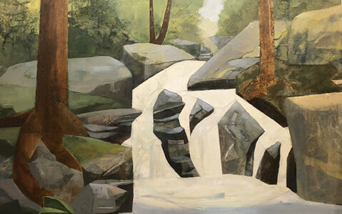 Mariella Bisson, 'Married to the Brook', 2019