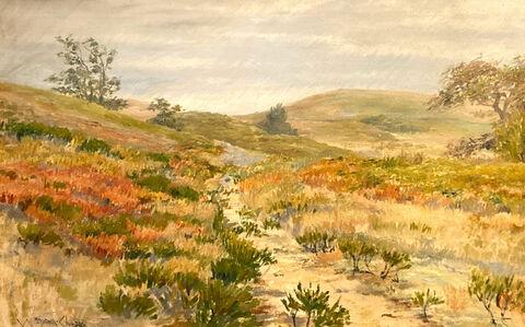 William Merritt Chase, 'Shinnecock Hills', ca. 1900