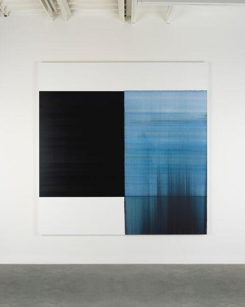 Callum Innes, 'Exposed Painting Delft Blue', 2018