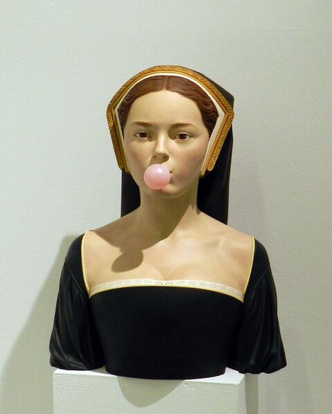 Gerard Mas, 'Bubblegum Lady', 2018