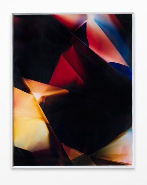 Walead Beshty, '4 Sided Picture (YRGB), December 20th, 2006, Valencia, CA', 2007