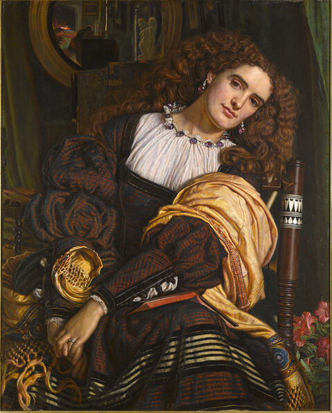 William Holman Hunt, 'Il Dolce Far Niente', 1866