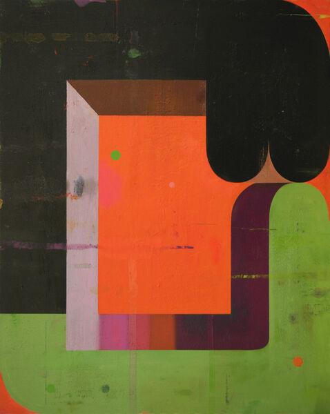 Deborah Zlotsky, 'Couple: Green and Black', 2020