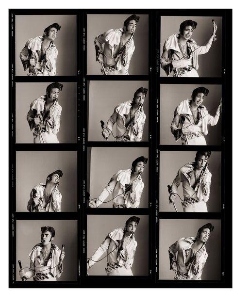 Matthew Rolston, 'Kelly LeBrock as Greed, Contact Sheet, Los Angeles', 1985