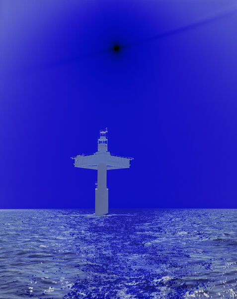 Catherine Yass, 'Lighthouse (North north west, distant)', 2011