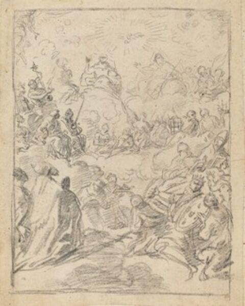 Francesco Solimena, 'The Triumph of the Trinity (The Gloria)'