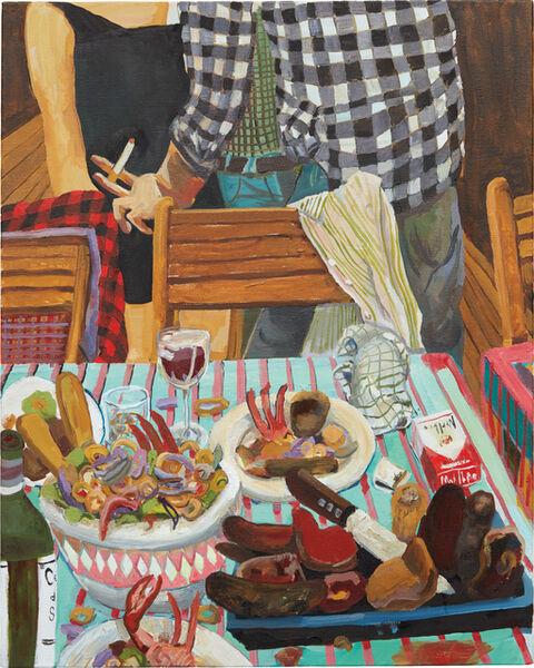 Celeste Dupuy-Spencer, 'Ceviche and Peruvian Meat', 2011