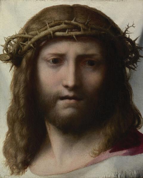 Correggio, 'Head of Christ', 1525-1530