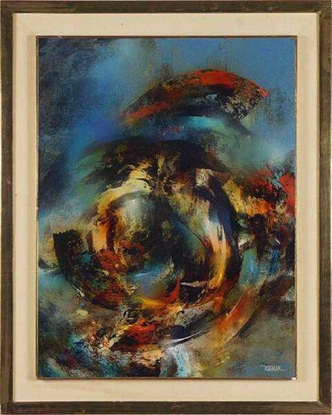 Leonardo Nierman, 'Whirlwind', ca. 2000
