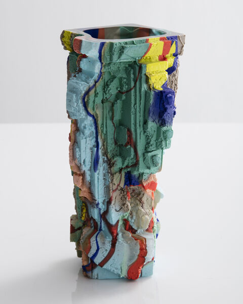 Thaddeus Wolfe, 'Unique vessel in hand-blown, cut and polished glass. Designed and made by Thaddeus Wolfe, USA, 2016.', 2016